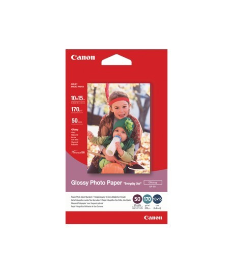 Canon GP5014X6-50 170 GSM GLOSSY PHOTO PAPER