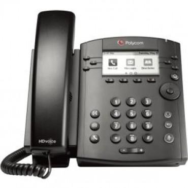 POLYCOM Microsoft Skype for Business/Lync edition VVX 310 6-line Desktop Phone with HD Voice,