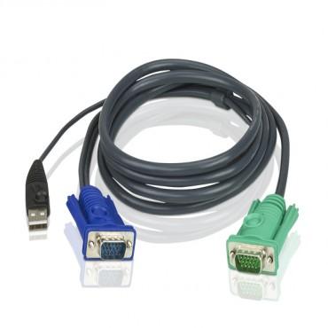 Aten 1.8m USB KVM Cable 2L-5202U