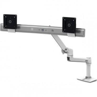 ERGOTRON LX Dual Direct Desk Mount Arm White 45-489-216