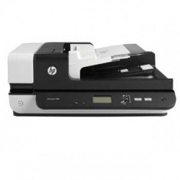HP SCANJET ENTERPRISE FLOW 7500 S2 FLATBED SCANNER / 50 PPM 100 IPM / UP TO 600 DPI / RDDC 2000 PAGES