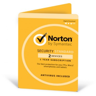 Norton Security Standard OEM 2 Devices 1 Year CD Media NORSTDOEM-2