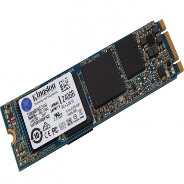 Kingston G2 240GB M.2 2280 SSD SATA 6Gbps 550/ 520MB/ s 100, 000/ 80, 000 IOPS 1 million hours