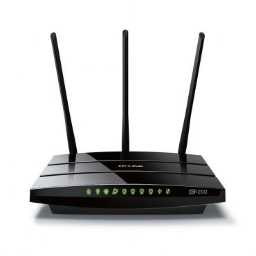 TP-Link Archer C1200 AC1200 1200Mbps Wireless Dual Band Gigabit Router 2.4GHz (300Mbps) 5GHz (867Mbps)