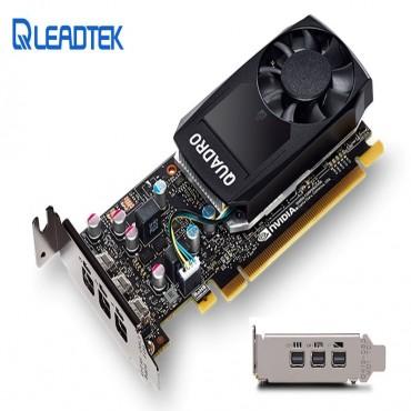 Leadtek nVidia Quadro P1000 PCIe Workstation Card 4GB DDR5 4xmDP 1.4 4x5120x2880@60Hz 128-Bit