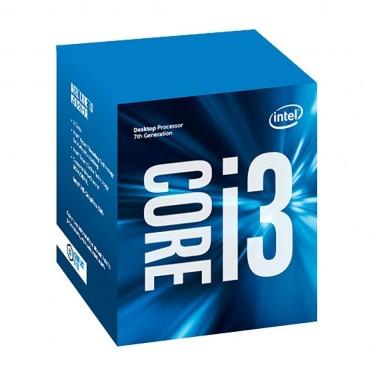 Intel Processor: Core i3-7100 KabyLake Dual Core LGA1151 3.90 GHz 8GT/ s DMI 3MB cache, Enhanced