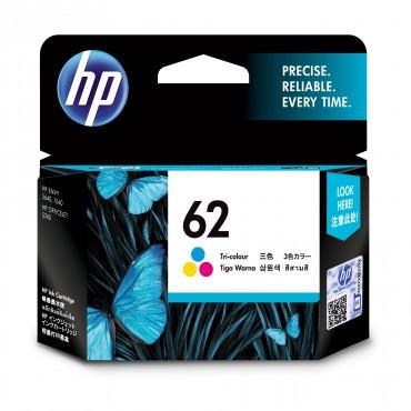 HP 62 TRI-COLOUR INK CARTRIDGES MOQ 60 UNITS C2P06AA