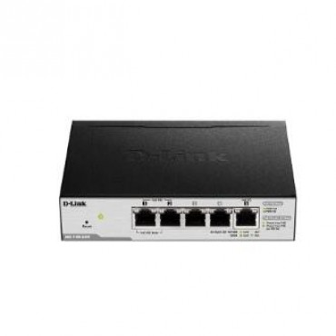 D-LINK DGS-1100-05PD Series Smart Managed PoE Powered 5-Port Gigabit Switch and PoE Extender DGS-1100-05PD
