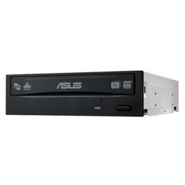 ASUS DVD: 8xDVD+-R Write(OEM), 13xDVD+-R Read, 8xDVD-RAM, DL, SATA, BLACK, Software DRW-24D5MT