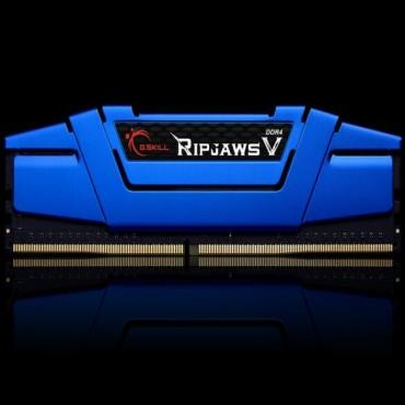 G.SKILL DDR4-2400 16GB Dual Channel Ripjaws V Steel Blue [F4-2400C15D-16GVB] GS-F4-2400C15D-16GVB