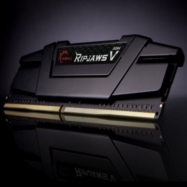 G.SKILL DDR4-3600 16GB Dual Channel Ripjaws V Classic Black [F4-3600C16D-16GVK] GS-F4-3600C16D-16GVK