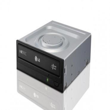 LG DVD Drive: 24xDVDRW+-, 12xDVD-RAM, DL, BLK, SATA, OEM GH24NSC0/D1