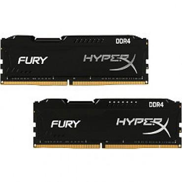 Kingston DUAL CHANNEL: 8GB (2x4GB) DDR4 2133MHz CL14 HyperX FURY Black Color HX421C14FBK2/8