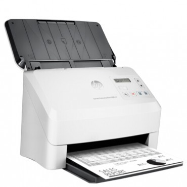 HP SCANJET ENTERPRISE FLOW 5000 S4 SHEET FEED SCANNER / 50 PPM 100 IPM / UP TO 600 DPI / RDDC