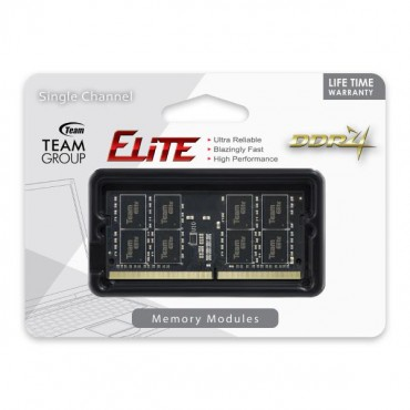Team Elite SODIMM PC-19200 DDR4 2400MHz 1x16GB CL16 260Pin, 1.2V TED416G2400C16-S01