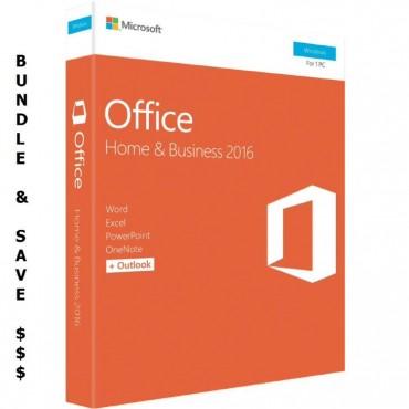 Microsoft Bundle 5 x Microsoft Office 2016 Home & T5D-02877 x 5 BUN