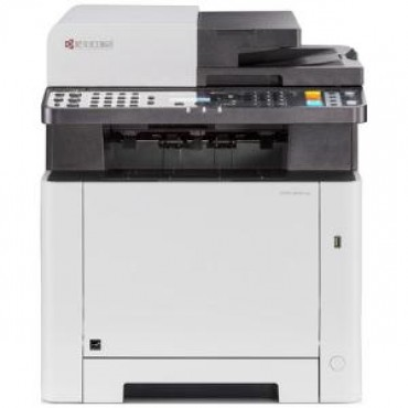 KYOCERA ECOSYS M5521CDN A4 COLOUR MFP PRINTER / 21PPM / COPY SCAN FAX / 1X50 SHEET TRAY 1X250 SHEET
