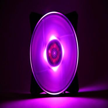 Cooler Master MasterFan Pro 120mm Air Balance RGB Fan, Buillt-in SmartIC, Silent/ Quiet/