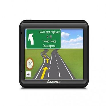 NAVMAN MOVE85LM 5IN LCD TOUCH SCREEN ANZ MAPS LIFETIME UPDATES SPOKEN STREET NAMES PREM SAFETY
