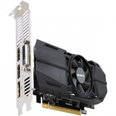 Gigabyte GeForce GTX 1050 Ti OC Low Profile 4GB GDDR5 DVI-D/ DP/ 2*HDMI PCI-E 3.0 Boost: 1442 MHz/