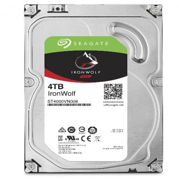 "Seagate 4TB IronWolf NAS 5900 RPM 64MB Cache SATA 6.0Gb/ s 3.5"" HDD (ST4000VN008) ST4000VN008"