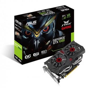 ASUS NVIDIA GEFORCE GTX1060 6G GDDR5, OC Mode - GPU Boost/ Base Clock: 1811 MHz/ 1595 MHz, Gaming
