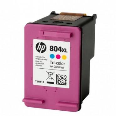 HP 804XL TRI-COLOR ORIGINAL INK CRTG T6N11AA