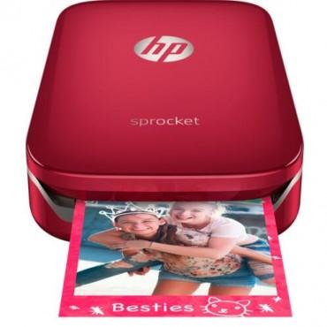 HP SPROCKET PHOTO PRINTER (RED) Z3Z93A