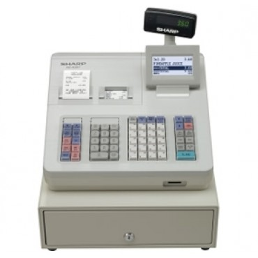 SHARP XEA307 Electronic Cash Register/ Raised Keyboard/ White. Replaces model XEA303. XEA307