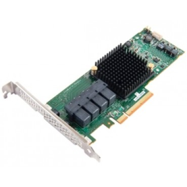 ADAPTEC 71605E entry-level SAS/ SATA 6Gb/ s PCIe Gen3 RAID, 16 native internal ports, RAID 0,