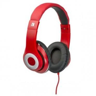 Verbatim OVER-EAR CALSSIC AUDIO HEADPHONES - RED 65067
