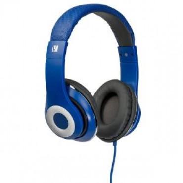 Verbatim OVER-EAR CLASSIC AUDIO HEADPHONES - BLUE 65068