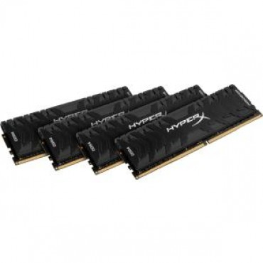 KINGSTON 32GB DDR4-3000MHz CL15 DIMM XMP Kit of 4 HyperX Predator Black HX430C15PB3K4/32