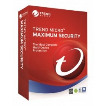 TREND MICRO TM Maximum Security 2017 (1-6 Devices) 12 month Add-On TICEWWMBXSBBEO