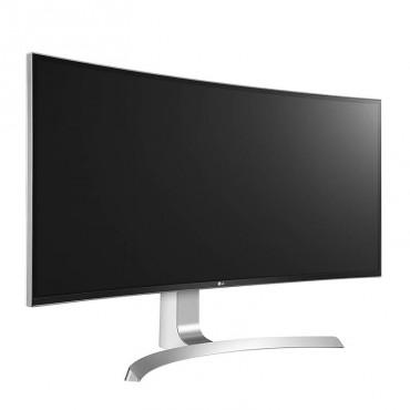 "LG 34UC99-W 34"" Curved-IPS Monitor21:9 3440x1440 5msGTG DP 2xHDMI 2xUSB3.0 AdobesRGB99% 34UC99-W"