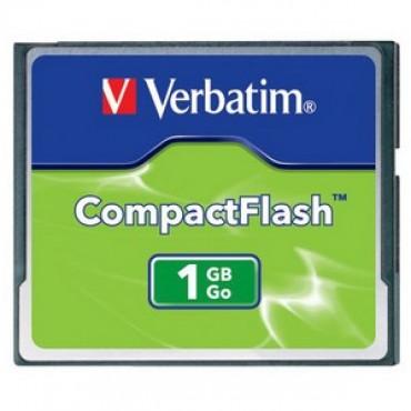 Verbatim Compact Flash Card 1GB 47010
