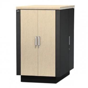 APC - SCHNEIDER NetShelter CX 24U Secure Soundproofed Server Room in a Box Enclosure International