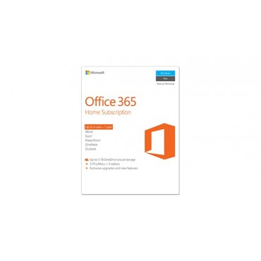 Microsoft Off 365 Home English APAC DM Subscr 1YR Medialess P2 6GQ-00752