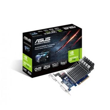 ASUS GeForce GT710, Silent Edition PCI Express 2.0, 2GB 64-bit DDR3, 954MHz, 1x D-Sub/ 1x DVI/ 1x HDMI/
