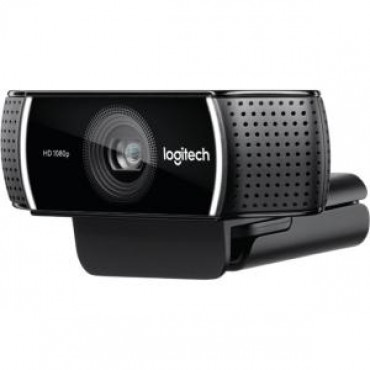 Logitech Webcam: C922 Pro Stream Webcam USB HD 1080P 960-001090