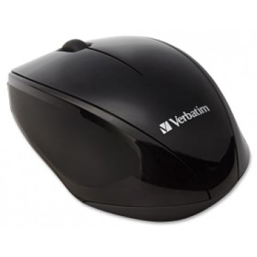Verbatim Multi Trac Black Mouse Blue LED, Wireless Optical 97992