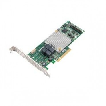 ADAPTEC 8805 SAS/SATA 12Gb/s PCIe Gen3 RAID adapter. Low-profile/MD2 8 internal ports 0 external ports 1024MB onboard DDR3 x8 PCI-express RAID 2277500-R