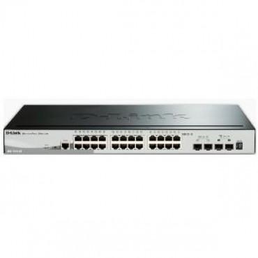 D-LINK 28-Port Gigabit Stackable Smart Managed Switch including 4 10G SFP (DGS-1510-28X)