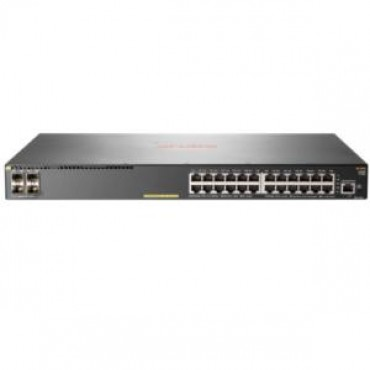 HP ARUBA 2930F 24G POE+ 4SFP+ SWITCH 24 X GIG POE+ PORTS 4X SFP+ PORTS LITE L3 LIFE WTY JL255A