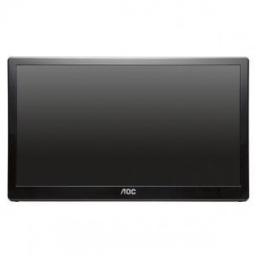AOC 15.6in E1659FWU LED USB 3.0 PORTABLE MONITOR 5MS 1366X768 CONTRAST 500:1 AUTO PIVOT VESA 75X75MM