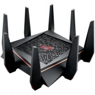 ASUS ROG RAPTURE WIRELESS 2.4GHZ UP TO 1000MBPS/5GHZ-1/5GHZ-2 UP TO 2167MBPS GT-AC5300