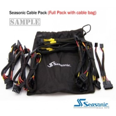 Seasonic Modular cable for all models of Seasonic Power Supply (Full Pack) ACBSEAMUDSET