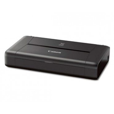 CANON iP110 Office Advanced Range - Portable A4 Printer with Battery, 9600dpi, 2 Cartridge - 5 Colour,