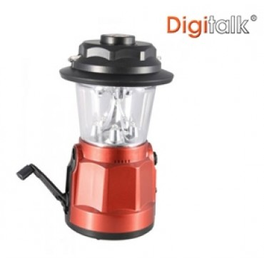 Digitalk Portable Dynamo LED Lantern Radio with Built-In Compass ELEDIGEI-KS5D9