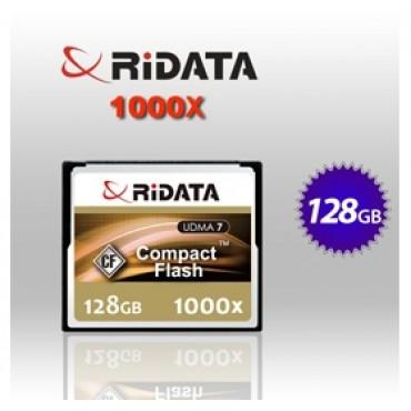 RiDATA 128GB 1000X Lightning Series UDMA CF CompactFlash Card (RDCF128G-1000X-LIG) FFCRID128GCF1000X